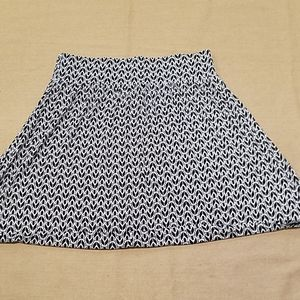 Lane Bryant elastic waist skirt size 14/16